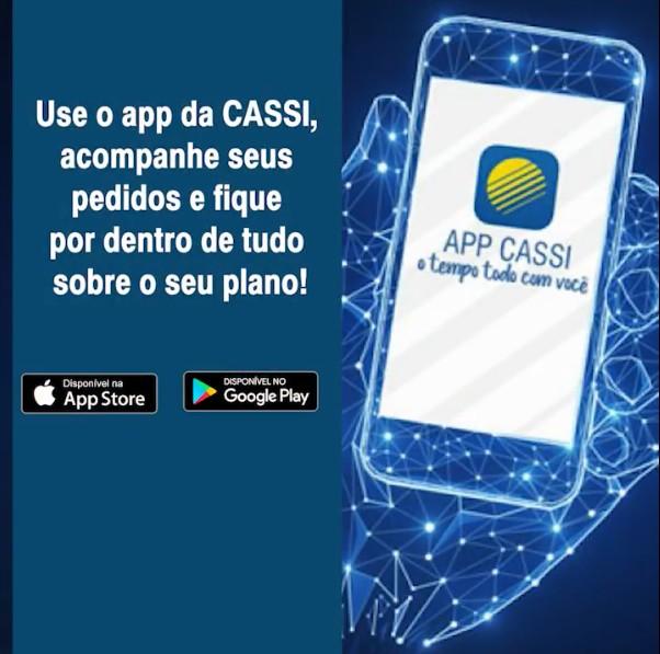Use o app da CASSI